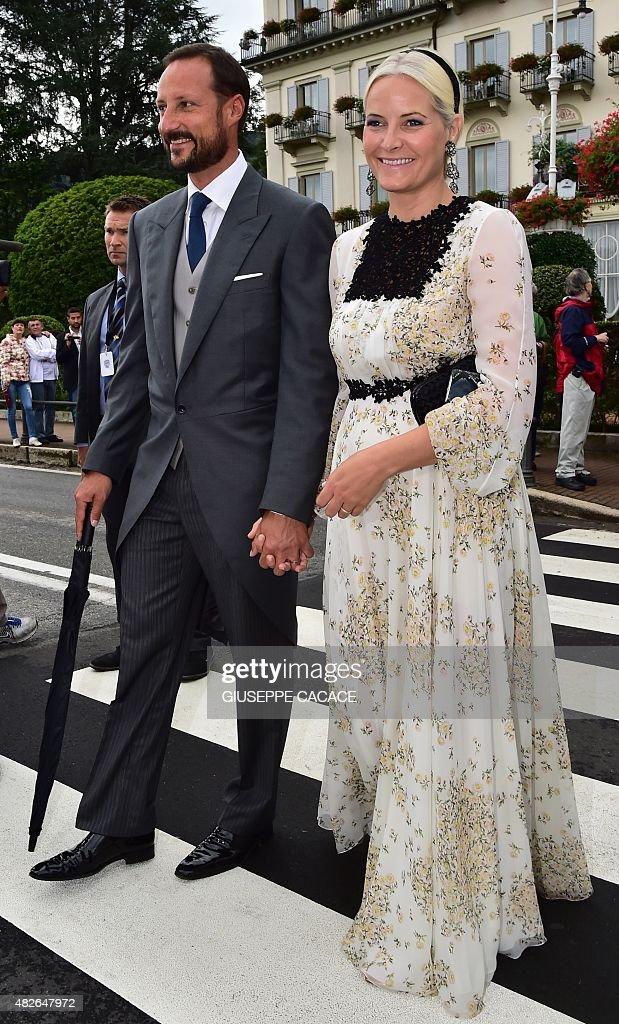 ITALY-MONACO-ROYALS-CASIRAGHI-BORROMEO-WEDDING : News Photo