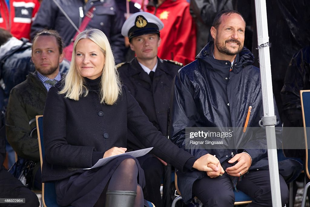 Norwegian Royals Visit Frogn : News Photo