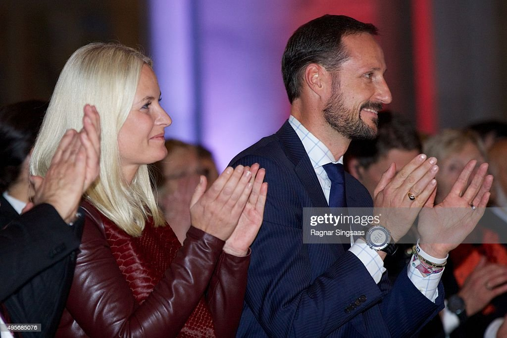 Norwegian Royals Attend The Celebration Of The 150th Anniversary of the Norwegian Red Cross : News Photo