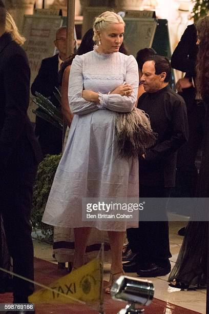 Crown Princess MetteMarit of Norway and Crown Prince Haakon of Norway arrive at Lido during the 73rd Venice Film Festival on September 2 2016 in...