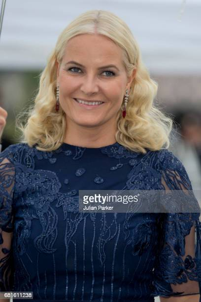 Crown Princess MetteMarit of Norway attends a Gala Banquet hosted by The Government at The Opera House as part of the Celebrations of the 80th...