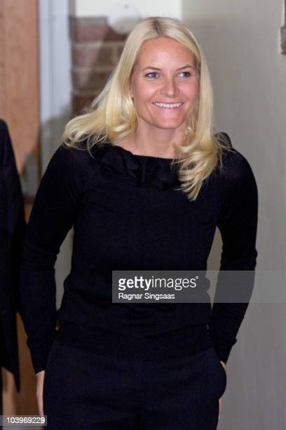 Crown Princess MetteMarit of Norway attends Dignity Day on September 10 2010 in Lillehammer Norway