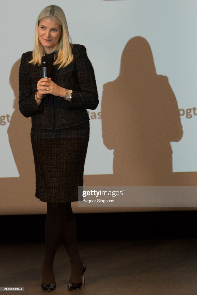 Crown Princess of Norway Attends 'Girls And Technology' Conference in Oslo : News Photo