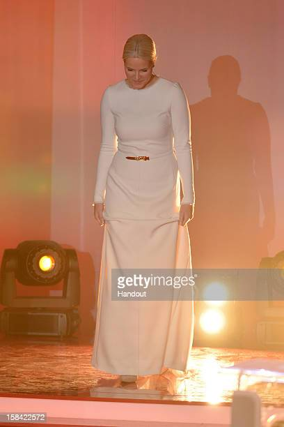 Crown Princess Mette-Marit of Norway attends the 'Ein Herz fuer Kinder' Charity gala on December 15, 2012 in Berlin, Germany.