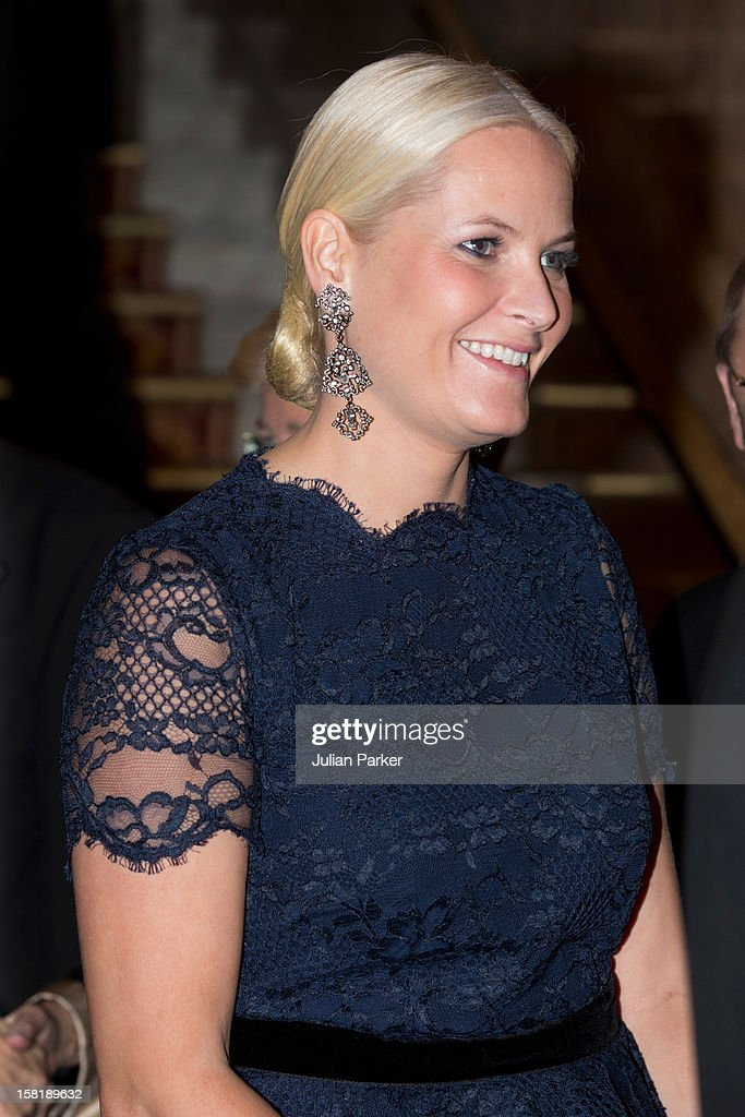 The Nobel Banquet - Oslo : News Photo
