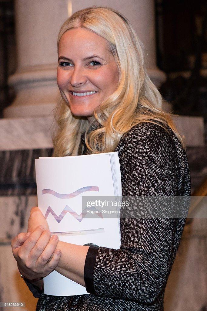 Norwegian Crown Princess Attends The Risor Chamber Music Festival : News Photo