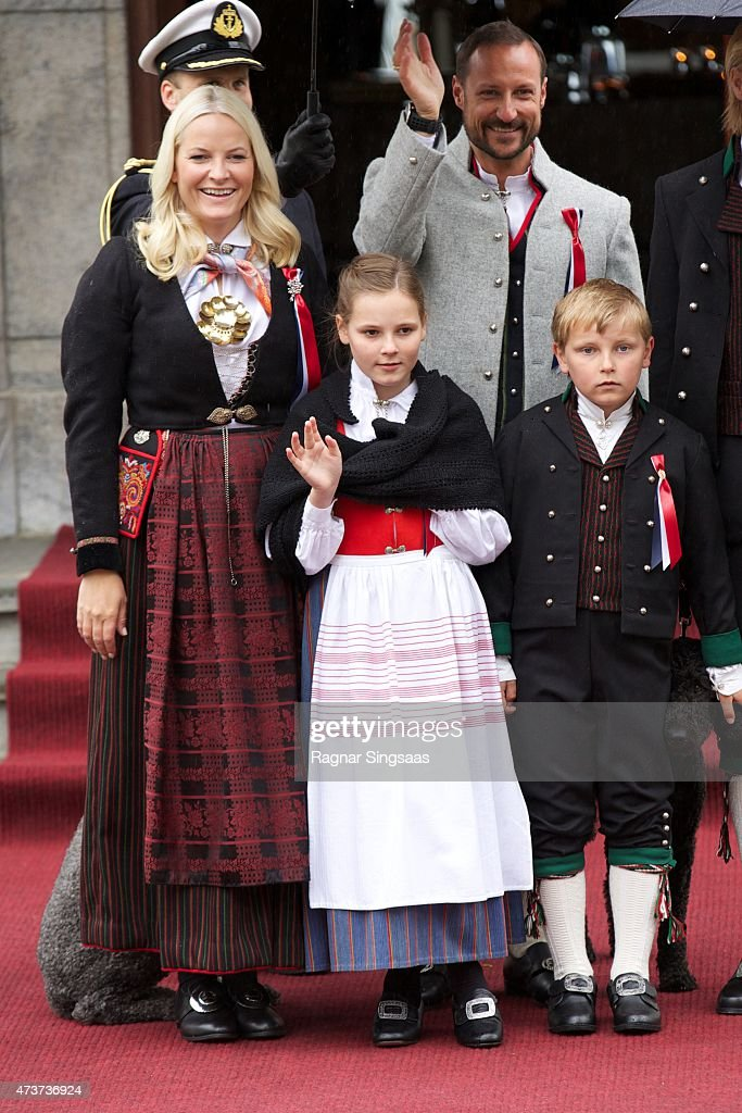 The Norwegian Royal Family Celebrate National Day In Oslo : News Photo