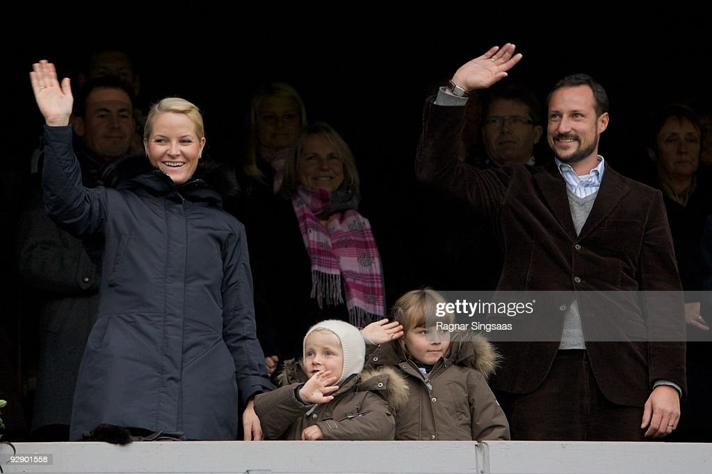 Norwegian Royal Family Attend The 2009 Norwegian Football Cup Final