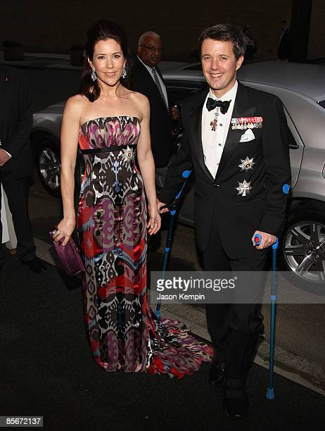 Crown Princess of Denmark Mary Elizabeth Donaldson and Crown Prince Frederik of Denmark Andr Henrik Christian attend the 2009 AmericanScandinavian...
