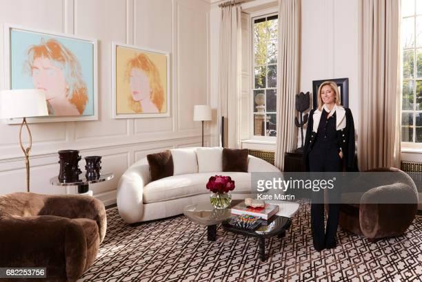 Crown Princess of Greece, Princess of Denmark and Creative Director of Marie-Chantal, an international children's wear brand Princess Marie-Chantal...