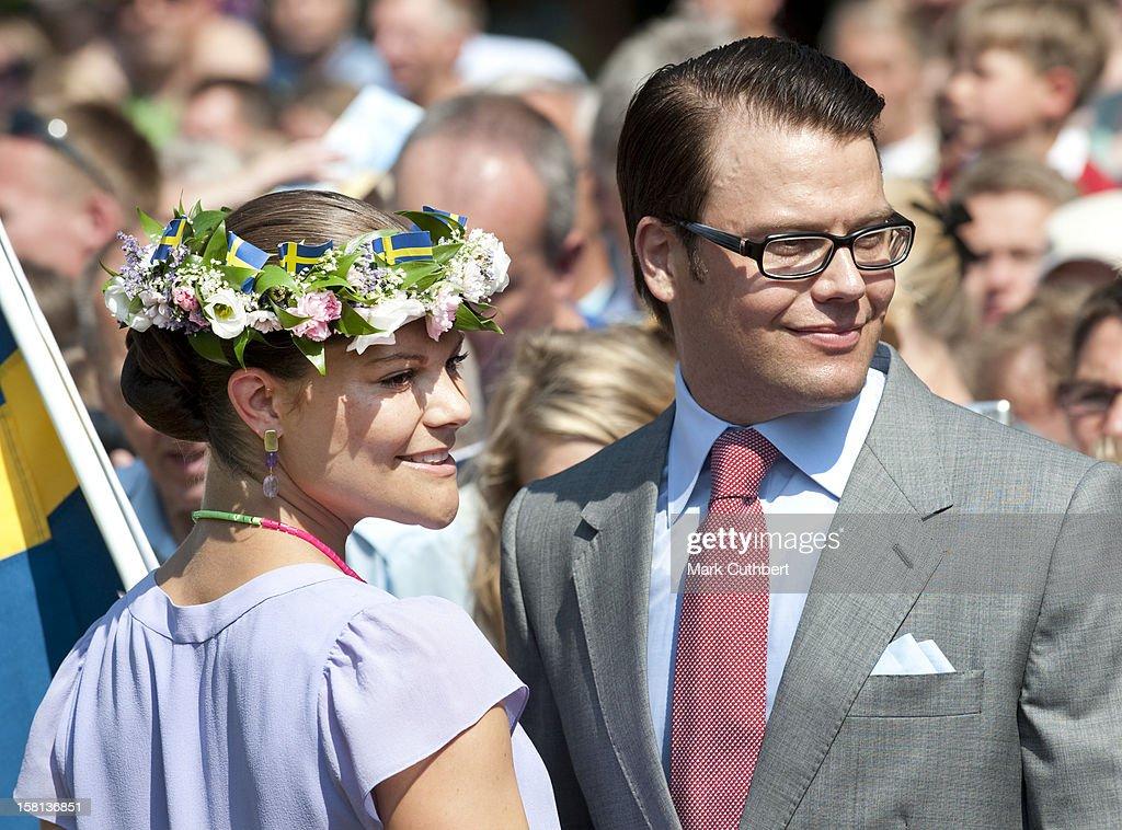 Crown Princess Victoria Celebrates Her 32Nd Birthday - Sweden : News Photo