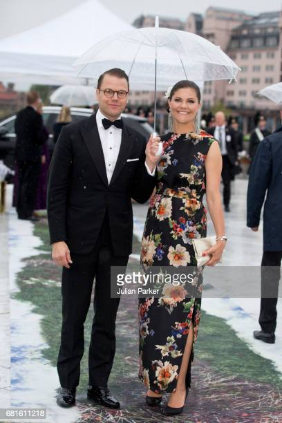 Crown Princess Victoria and Prince Daniel of Sweden attend a Gala Banquet hosted by The Government at The Opera House as part of the Celebrations of...