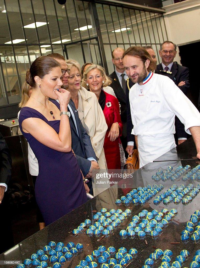 Sweden Royal Official Visit - Paris : News Photo