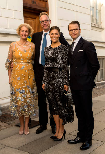 DNK: Crown Princess Victoria And Prince Daniel Of Sweden Visit Copenhagen - Day 1