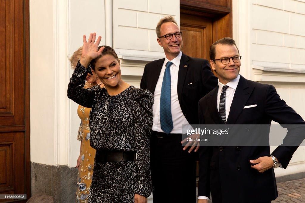 Crown Princess Victoria And Prince Daniel Of Sweden Visit Copenhagen - Day 1 : News Photo