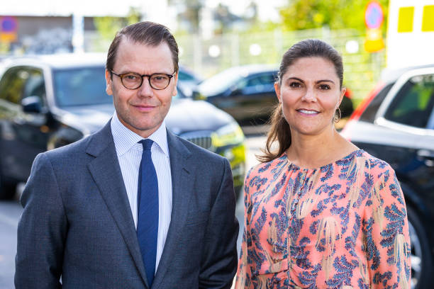 SWE: Swedish Royals Visit The Ambulance Service In The Stockholm Region