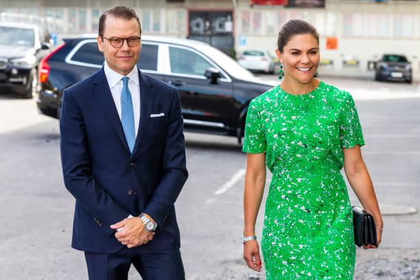 SWE: Swedish Royals Visit The Studio Association Wip:sthlm
