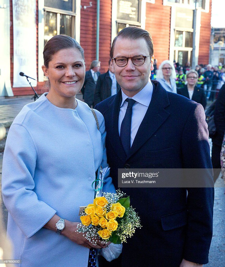 Crown Princess Victoria and Prince Daniel Visit Varmland : News Photo