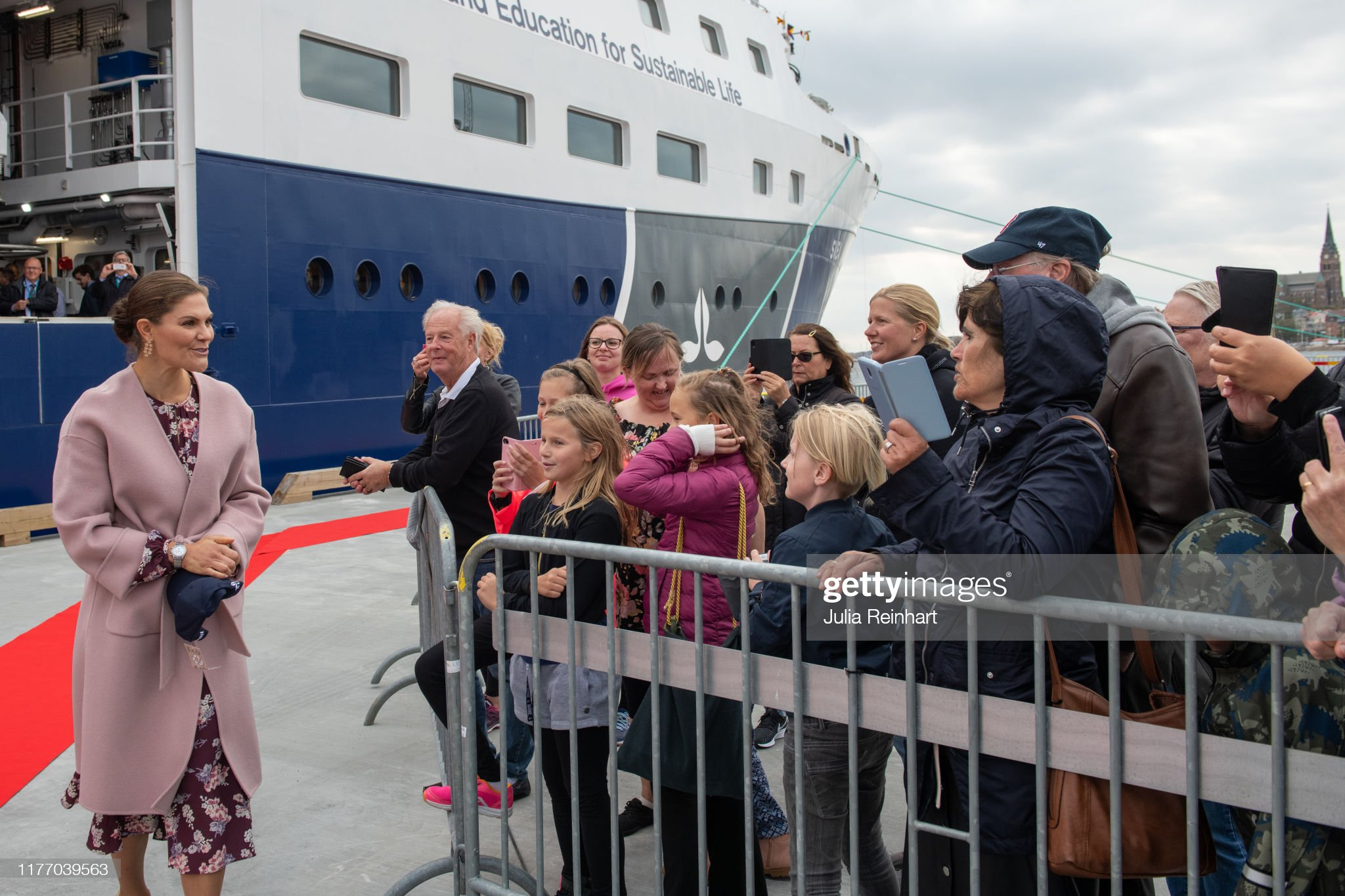 crown-princess-victoria-greets-onlookers-at-the-end-of-her-visit-of-picture-id1177039563