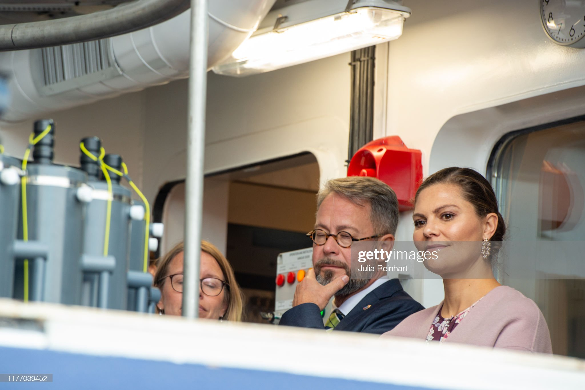 crown-princess-victoria-inspects-the-sea-fish-laboratorys-new-ship-picture-id1177039452