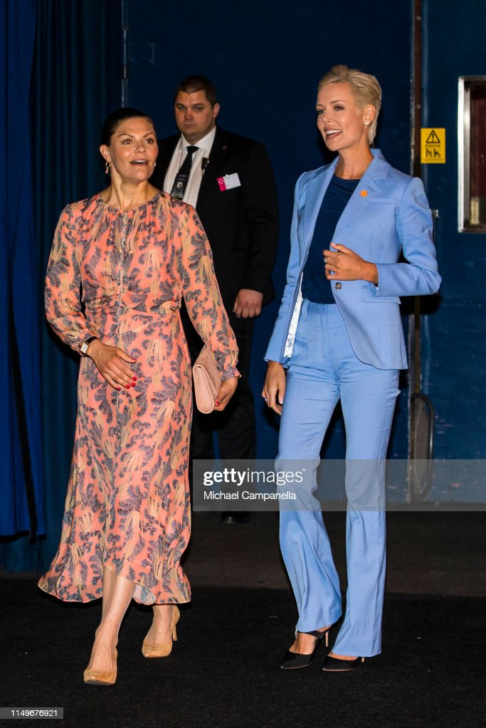 Crown Princess Victoria Attends EAT Stockholm Food Forum 2019 : Nachrichtenfoto