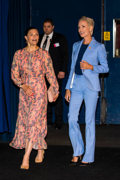 SWE: Crown Princess Victoria Attends EAT Stockholm Food Forum 2019