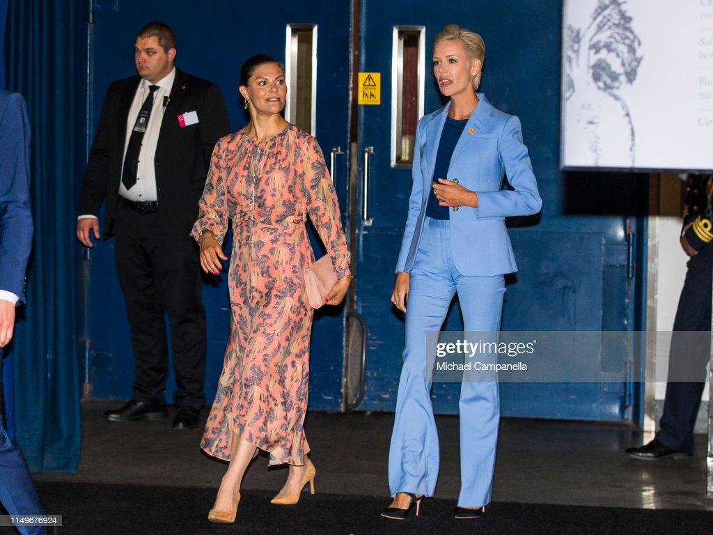 Crown Princess Victoria Attends EAT Stockholm Food Forum 2019 : News Photo
