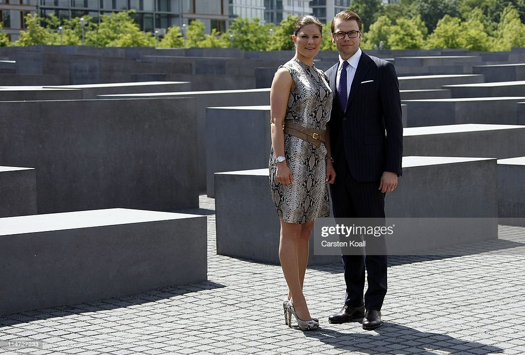 HRH Crown Princess Victoria Of Sweden And Prince Daniel On Germany Visit - Day 3