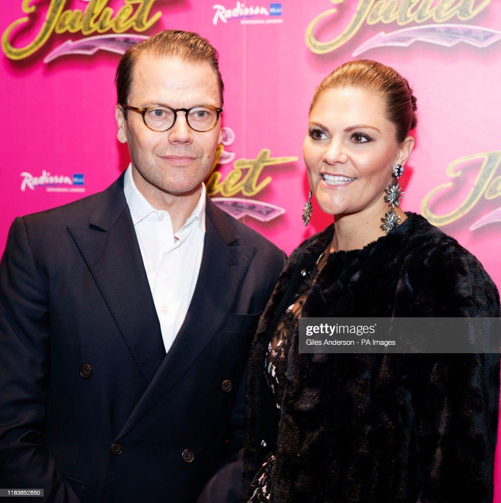 & Juliet opening night : News Photo
