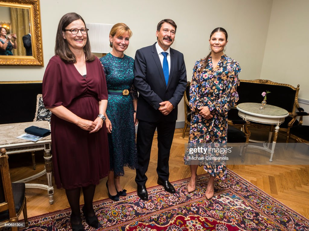 Crown Princess Victoria Attends The Junior Water Prize 2017