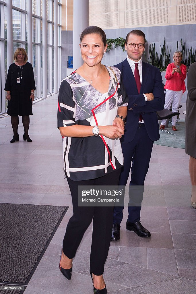 Swedish Royals Visit Gothenburg : News Photo