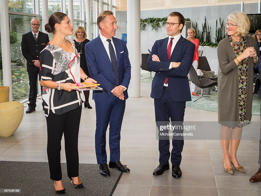 Swedish Royals Visit Gothenburg : News Photo