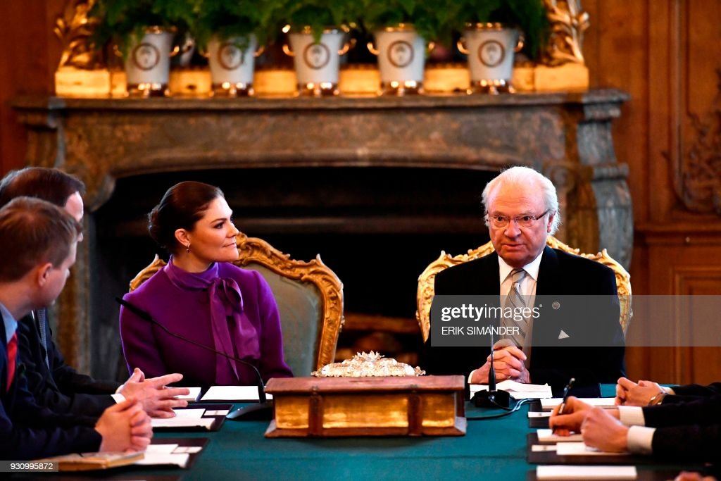SWEDEN-ROYALS-TE-DEUM : News Photo