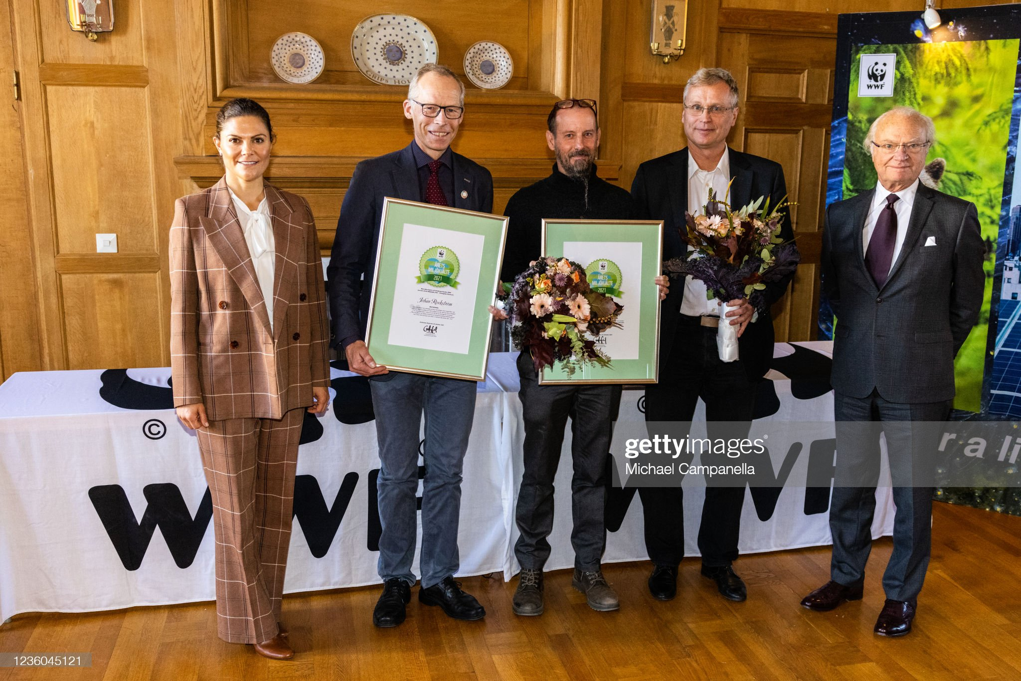 Swedish Royals Attend WWFs Anual Meeting at Ulriksdals's Castle : News Photo