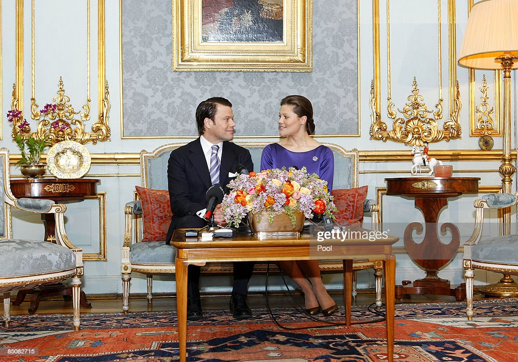 Princess Victoria of Sweden Announces Her Engagement to Mr. Daniel West : News Photo
