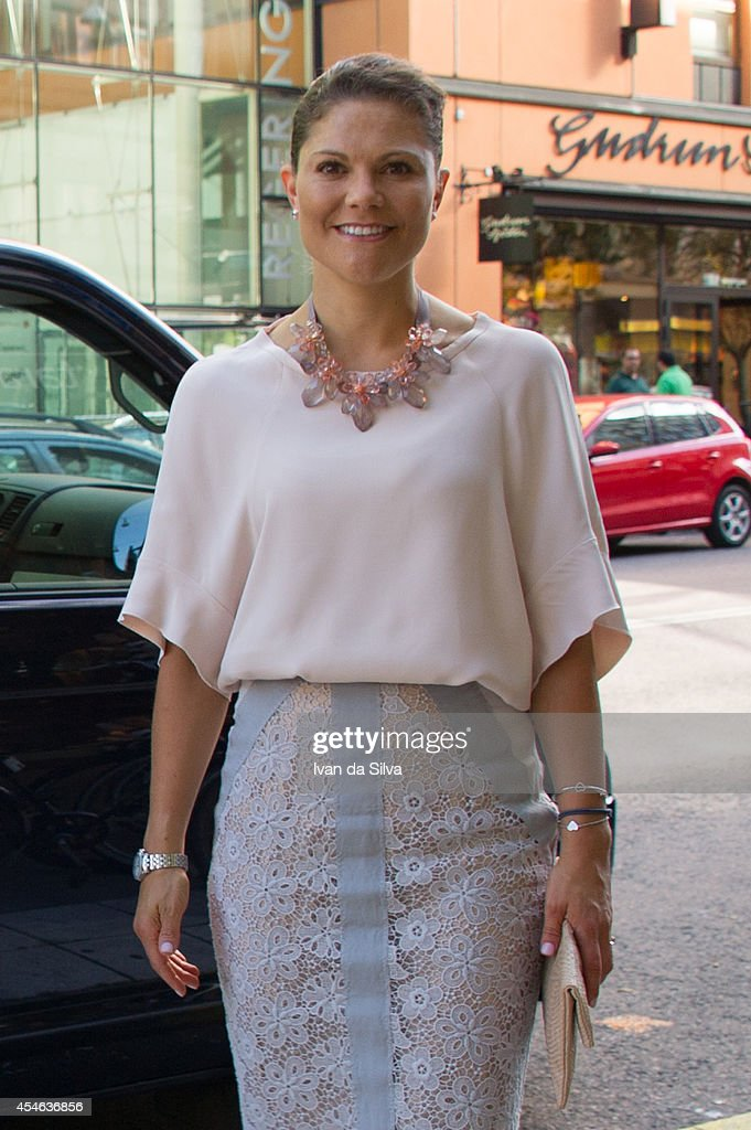 Swedish Royals Attend 'Never Mind the Gap' Seminar in Stockholm : News Photo
