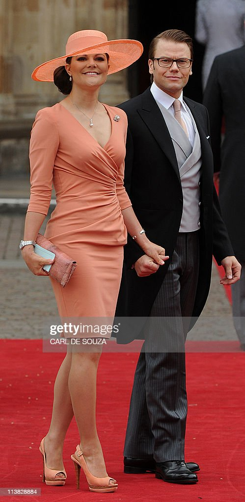 Crown Princess Victoria of Sweden and Pr : News Photo