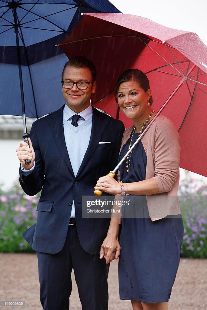 Swedish Royal Family Celebrates Crown Princess Victoria's 34th Birthday : News Photo