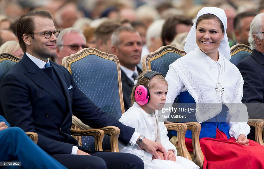 Victoria of Sweden Celebrates Her Birthday : News Photo