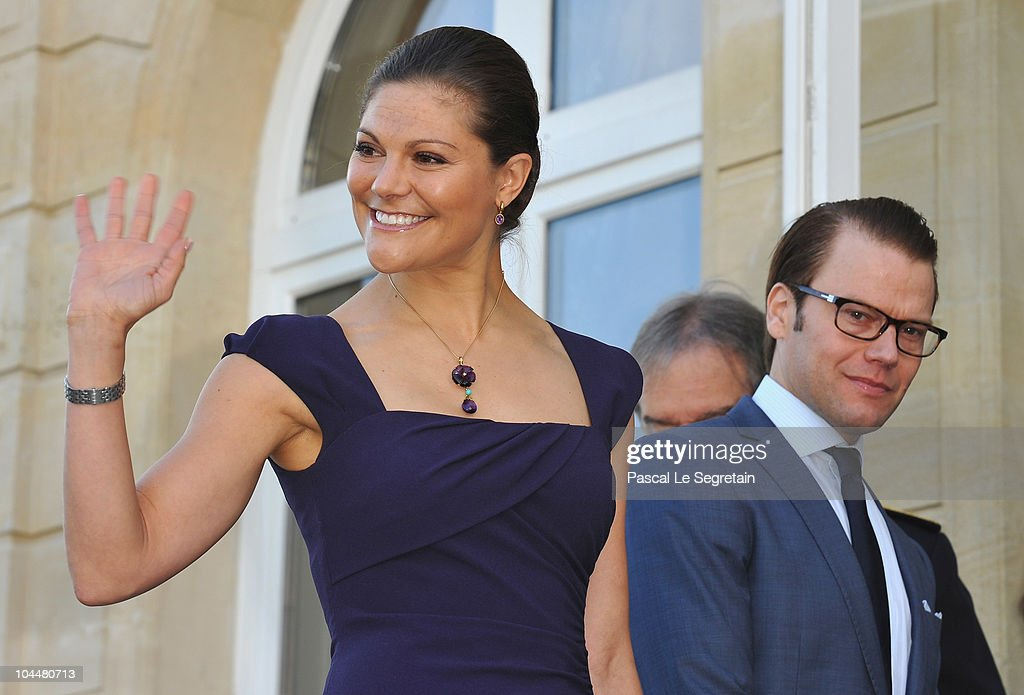 Princess Victoria and Prince Daniel of Sweden Official Trip to France