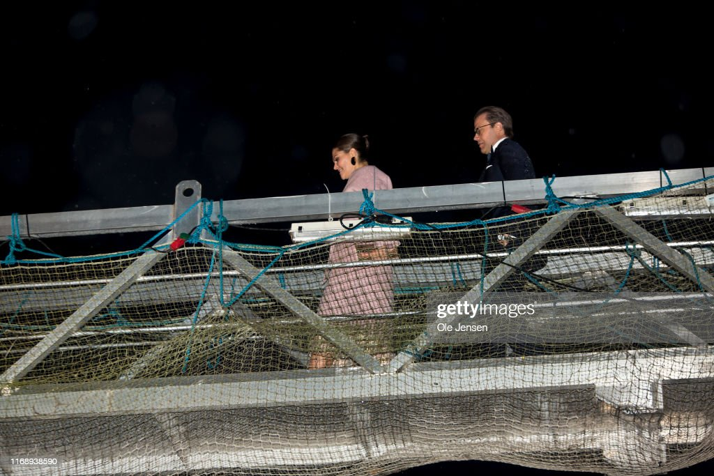 Crown Princess Victoria And Prince Daniel Of Sweden Visit Copenhagen - Day 2 : News Photo
