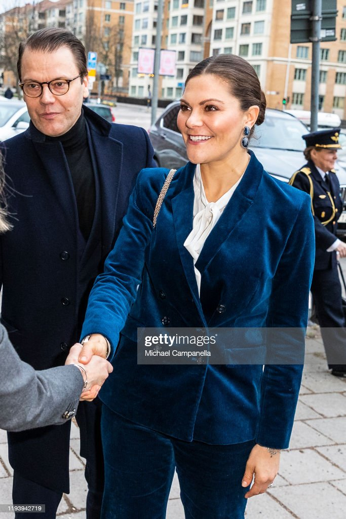Swedish Royals Visit The National Board Of Health And Welfare : Nieuwsfoto's