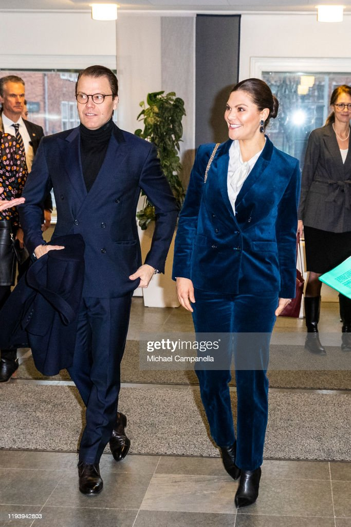 Swedish Royals Visit The National Board Of Health And Welfare : Fotografia de notícias