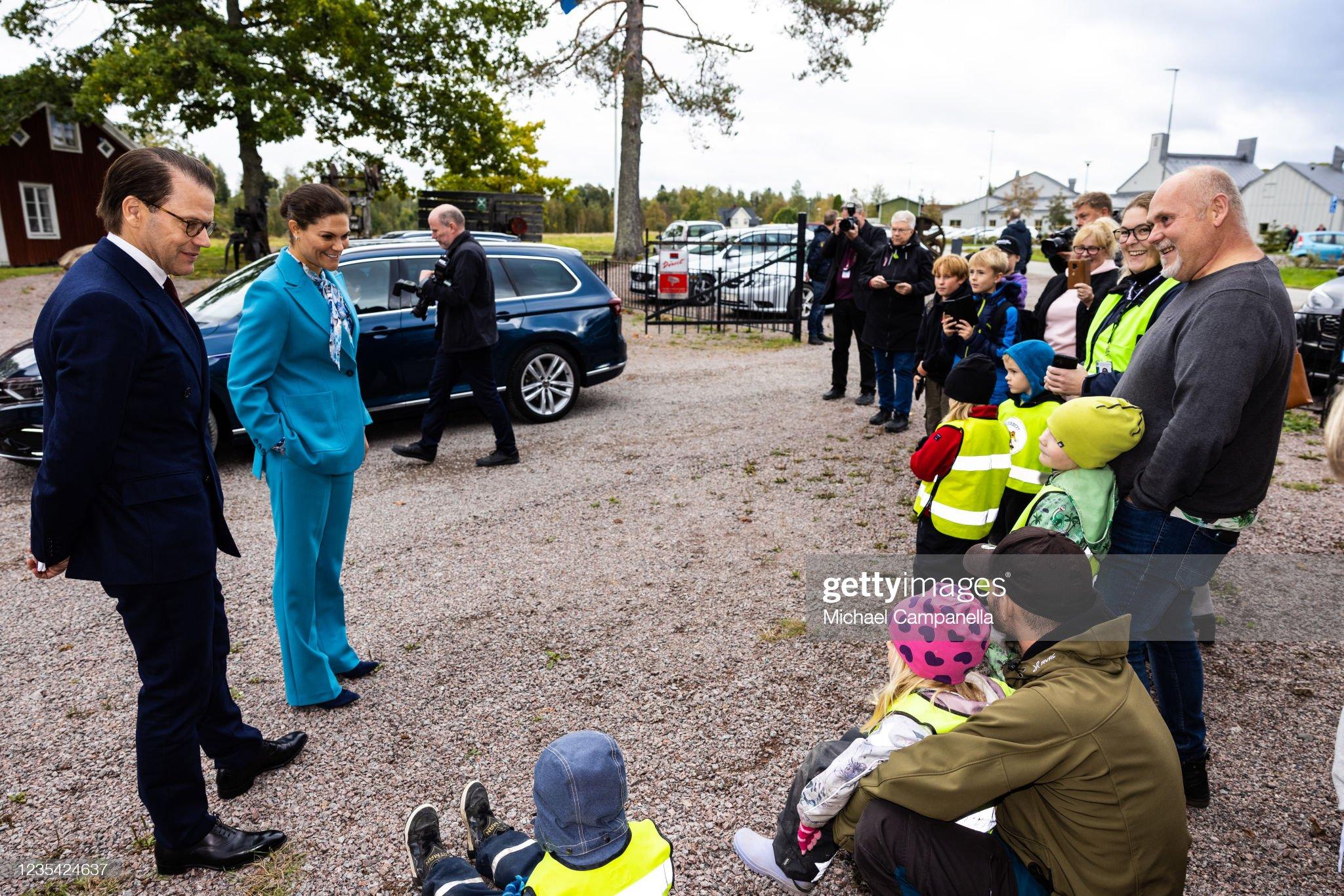 Swedish Royals Visit Gavleborg County : News Photo