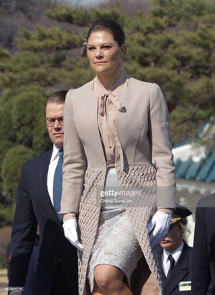 Crown Princess of Sweden Victoria Visits South Korea - Day 2 : News Photo