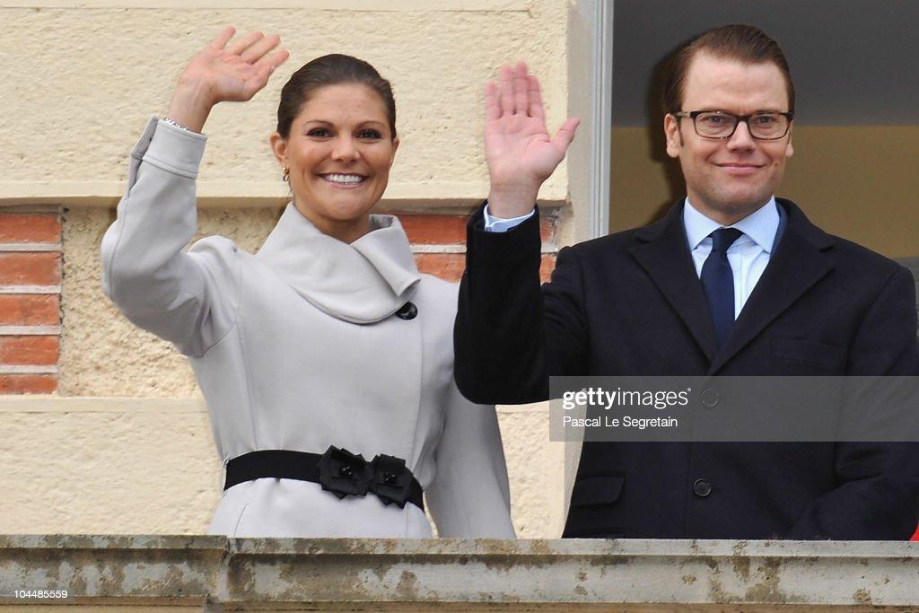 Victoria and Daniel of Sweden visit Chateau La Grange - La Prevote