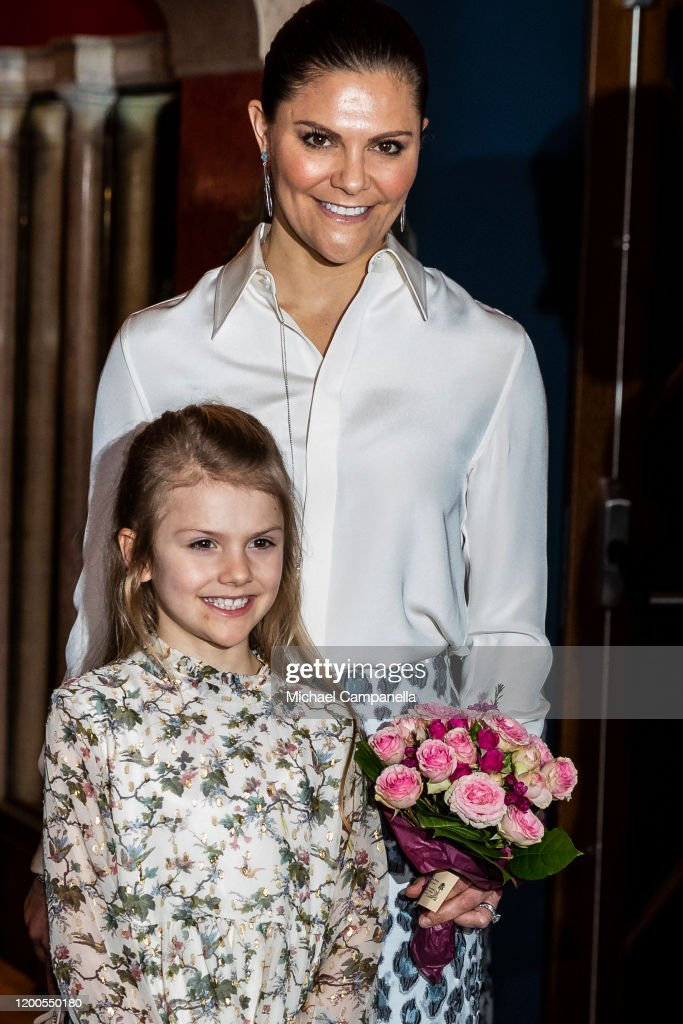 Swedish Royals Attend A Concert With Lilla Akademien : News Photo