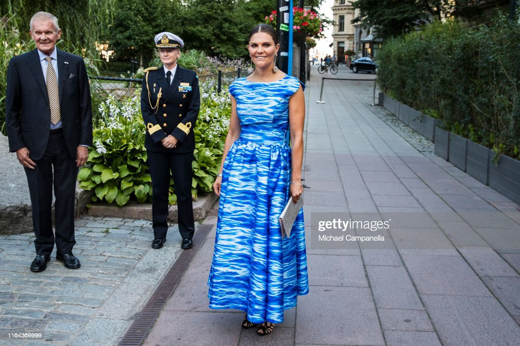 Crown Princess Victoria Of Sweden Attends The Distribution Of The Stockholm Junior Water Prize : News Photo