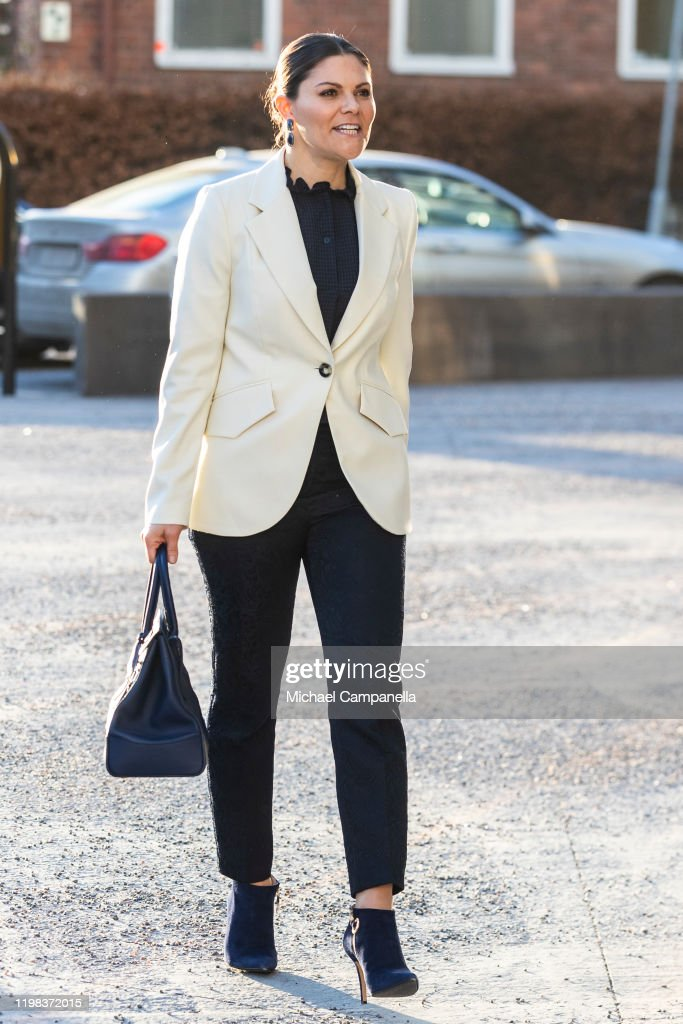 """Crown Princess Victoria Attends """"National Cancer Strategy 10 years - now we aim for 2030!"""" : News Photo"""