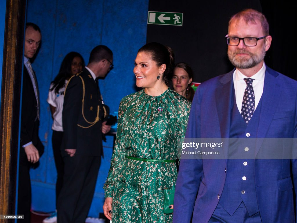 Crown Princess Victoria of Sweden Attends 'Call of Water' Event